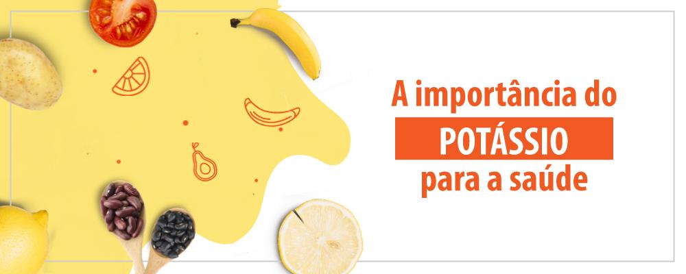A importância do potássio para a saúde