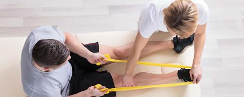 As áreas de atuação profissional do fisioterapeuta