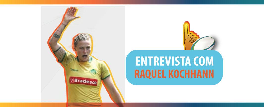 Talk Pós Estácio: entrevista com a jogadora e capitã da Seleção Brasileira de Rugby, Raquel Kochhann